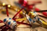 New Years Eve noisemakers by Carol VanHook