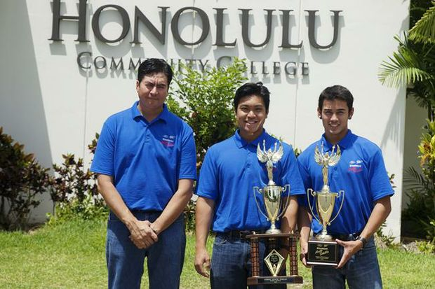 2015 AAA Hawaii auto skills winners