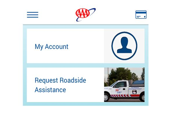 Roadside assistance app