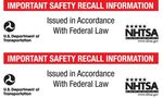 Advisory: NHTSA Seeks Public Help In Getting Honda, Acura Vehicles With Dangerous Airbags Repaired