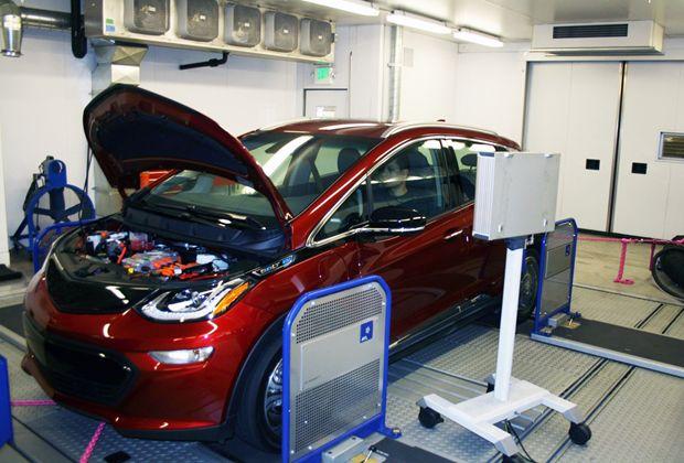 EV Range Testing - Chevy Bolt Test Vehicle 1