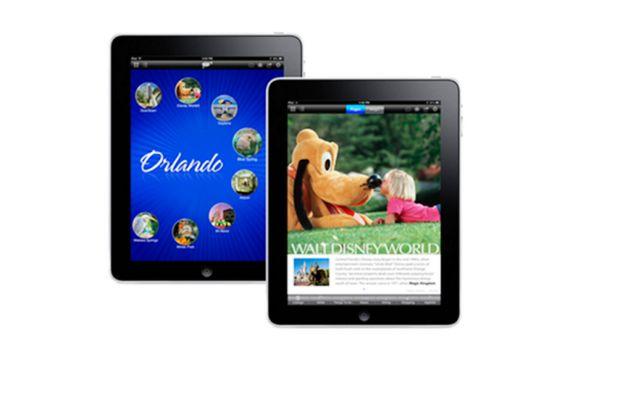AAA iPad Top Destinations