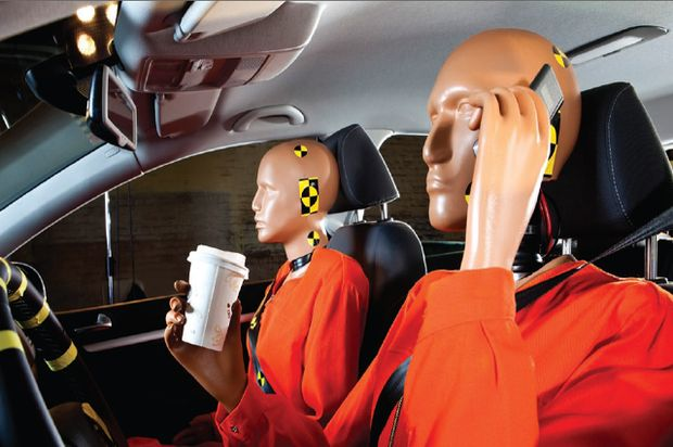 crash test distracted dummies