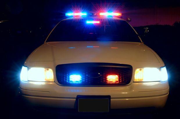 Police Lights by Scott Davidson