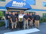 MOODY'S COLLISION CENTER OF GORHAM NAMED AAA's 2015 MAINE APPROVED AUTO BODY FACILITY OF THE YEAR