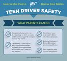 AAA Identifies the Top Mistakes Teens Make When Learning to Drive
