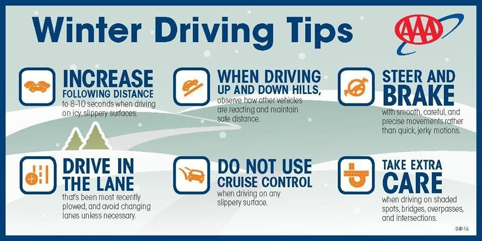 AAA OFFERS DRIVING TIPS AND URGES MOTORISTS TO PREP CARS FOR WINTER WEATHER | AAA Northern New England