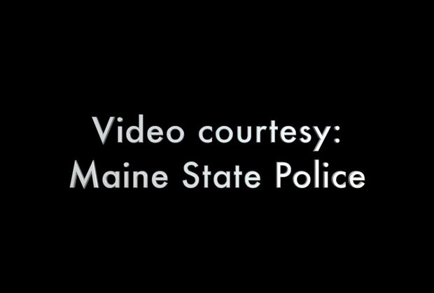 Crash video - Maine