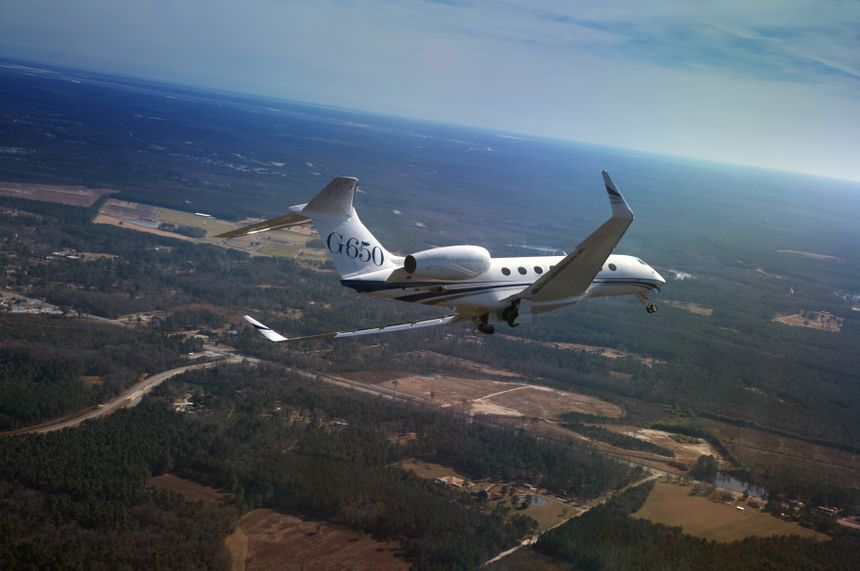 The Gulfstream G650