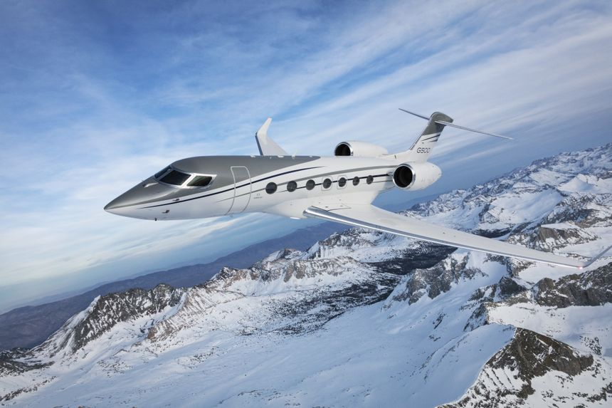 Record-Setting Gulfstream G500 To Visit RUBAE 2018