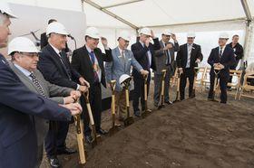 началось строительство нового ангара для технического обслуживания