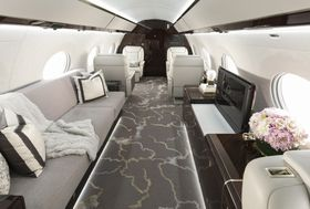 The Gulfstream G650ER Serenity and Style Cabin View