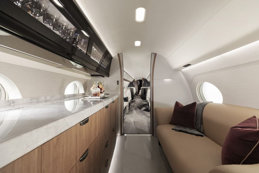 Gulfstream G700 Ultragalley