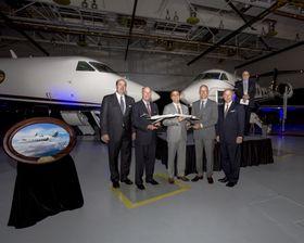 湾流向FLEXJET交付两架G450飞机