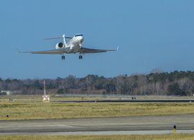 湾流宇航公司今天宣布,第四架湾流G500试飞飞机T4已完成首飞,正式加入G500试飞计划。