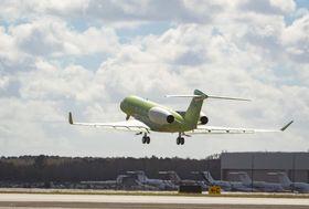 湾流试飞第二架G600测试飞机