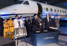 北京红十字会999急救中心选用Gulfstream G550提供空中救援服务