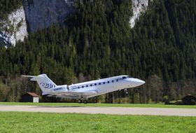 GULFSTREAM G280在 难度极大的欧洲机场成功起降_Saanen-Gstaad, Switzerland
