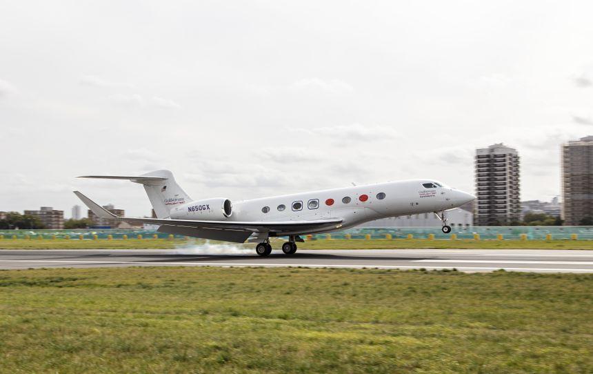 GULFSTREAM G650系列飞机所创速度纪录已超75项,并展现了大角度进近能力