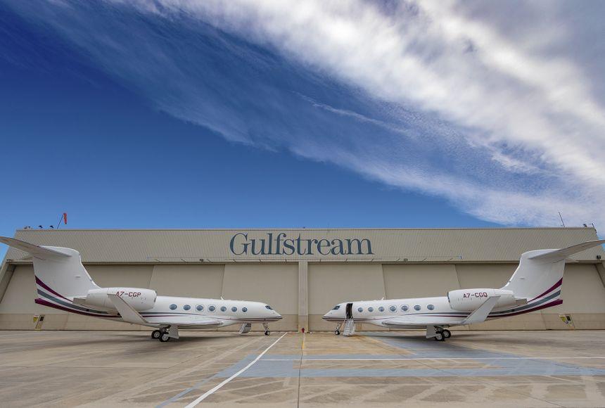 湾流首次向国际客户交付全新G500