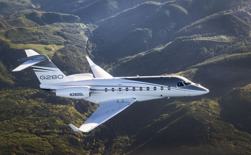 GULFSTREAM G280使用可再生燃料创下城市间飞行纪录