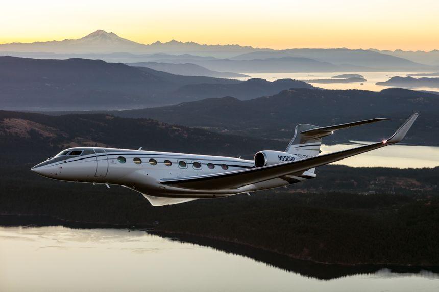 Gulfstream G650ER再展超远航程能力,高速完成新加坡至旧金山直飞
