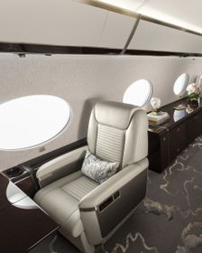 The Gulfstream G650ER Serenity and Style Window Seat