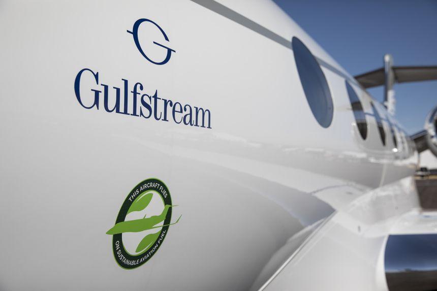 湾流完成首次碳中和飞行