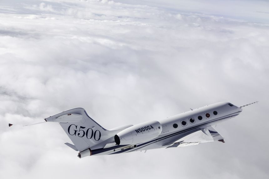 GULFSTREAM G500 COMPLETA PRUEBAS DE RESONANCIA
