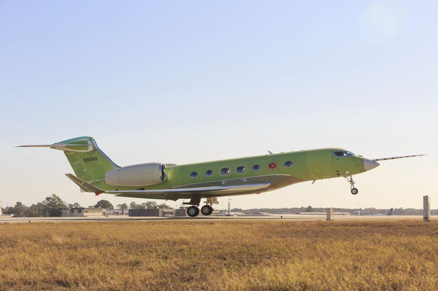 El Gulfstream G600 Despega Antes De Lo Previsto