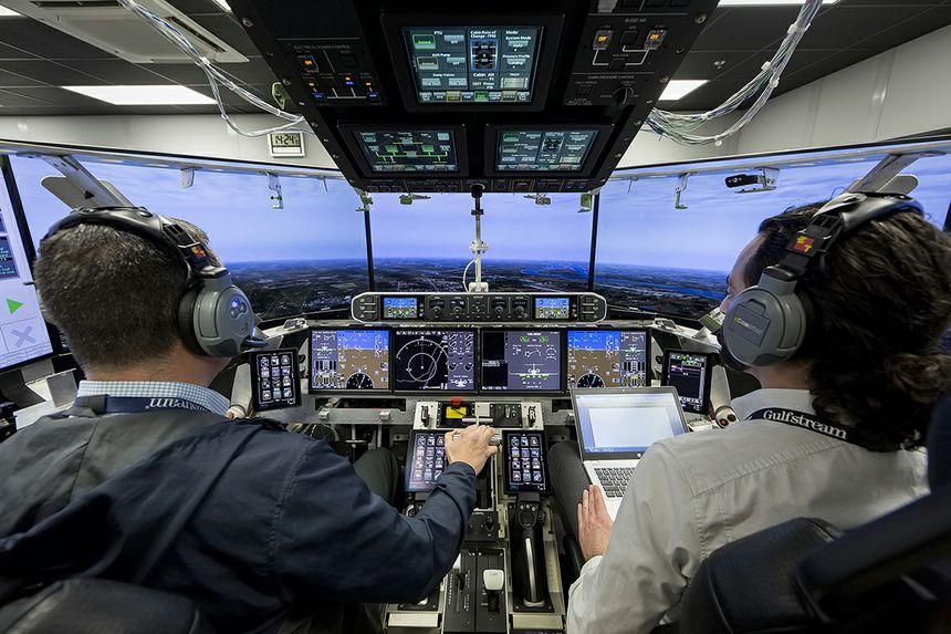 El Iron Bird Gulfstream G600