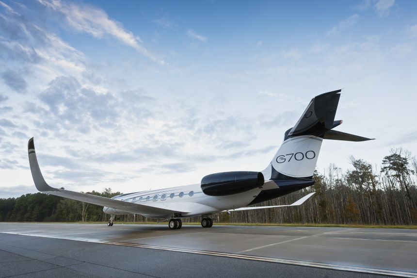 The Gulfstream G700