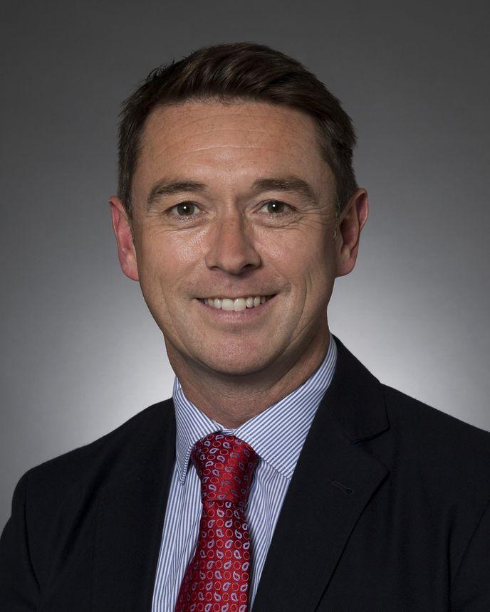 Brian Jones, Vice-presidente Regional de Vendas para o Norte da Europa