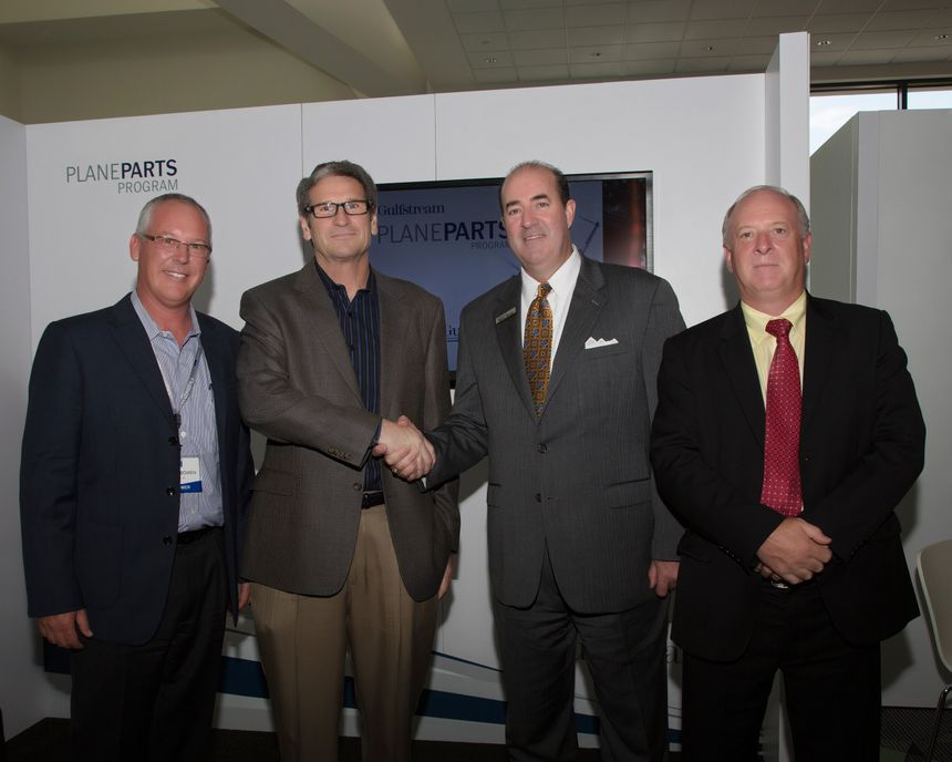 Gulfstream Signs 300th PlaneParts Customer