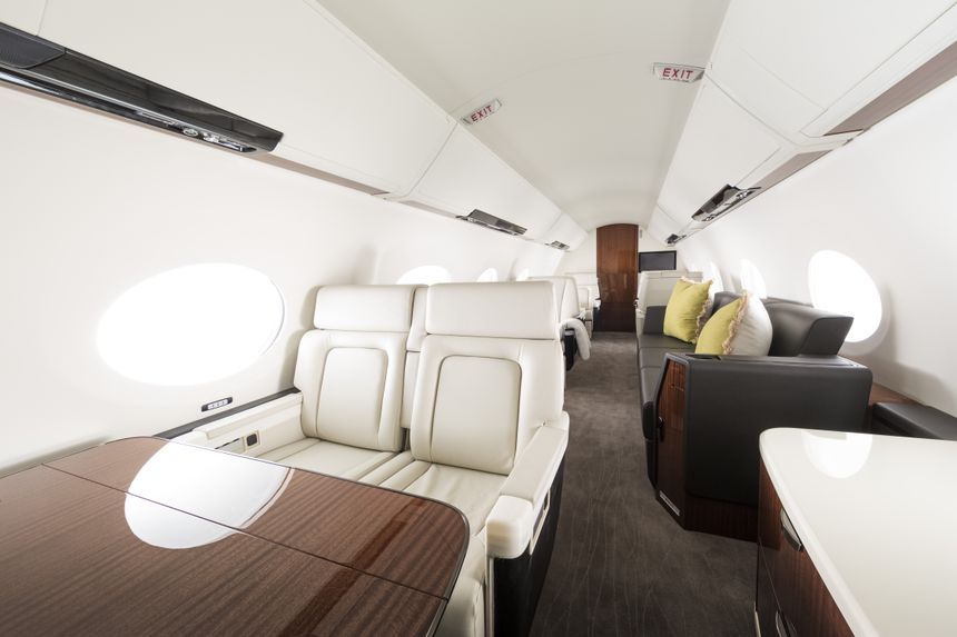 G500 and G600 Cabin