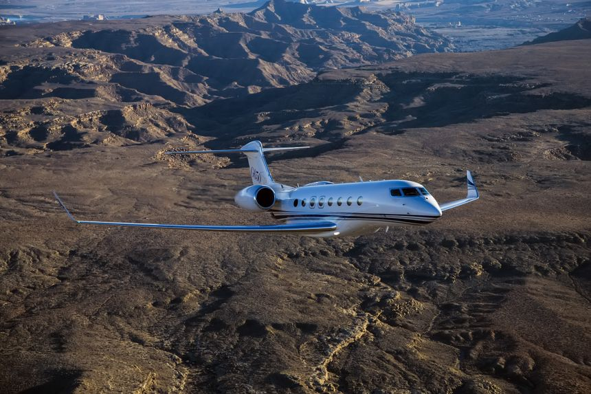 The Gulfstream G650ER