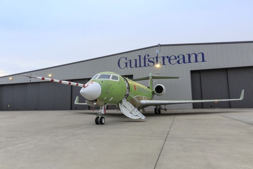 Gulfstream G600 Progressing Toward First Flight