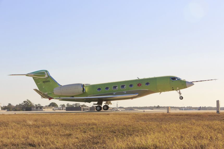 Gulfstream G600 Levanta Voo Antes Do Previsto