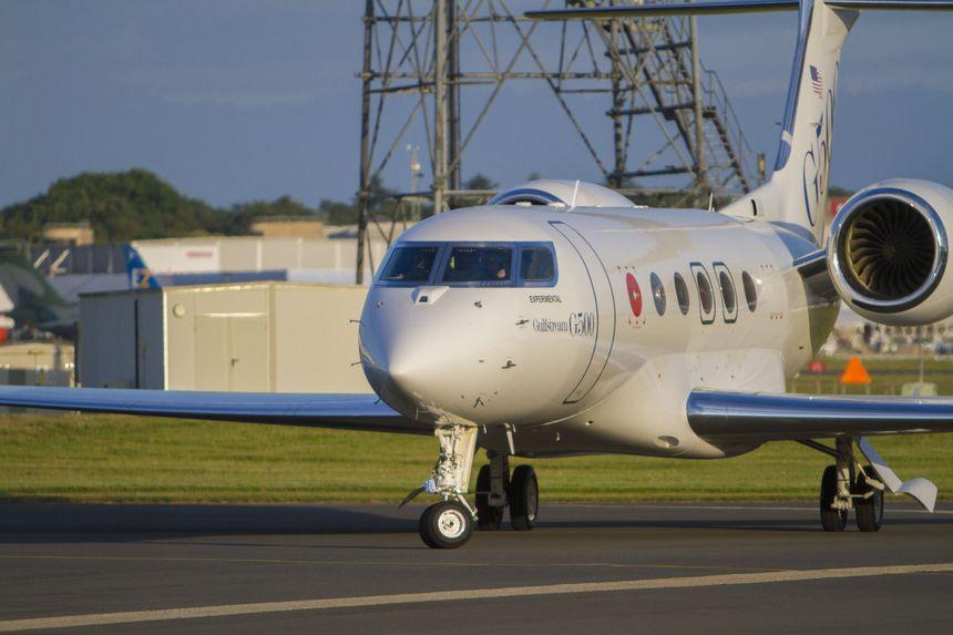 GULFSTREAM G500 CHEGA À EUROPA PELA PRIMEIRA VEZ PARA PARTICIPAR DA FARNBOROUGH INTERNATIONAL AIRSHOW