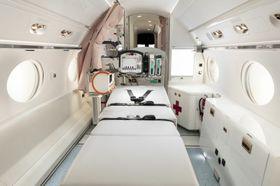 The Gulfstream G550 Configured For The Beijing Red Cross Emergency Medical Center