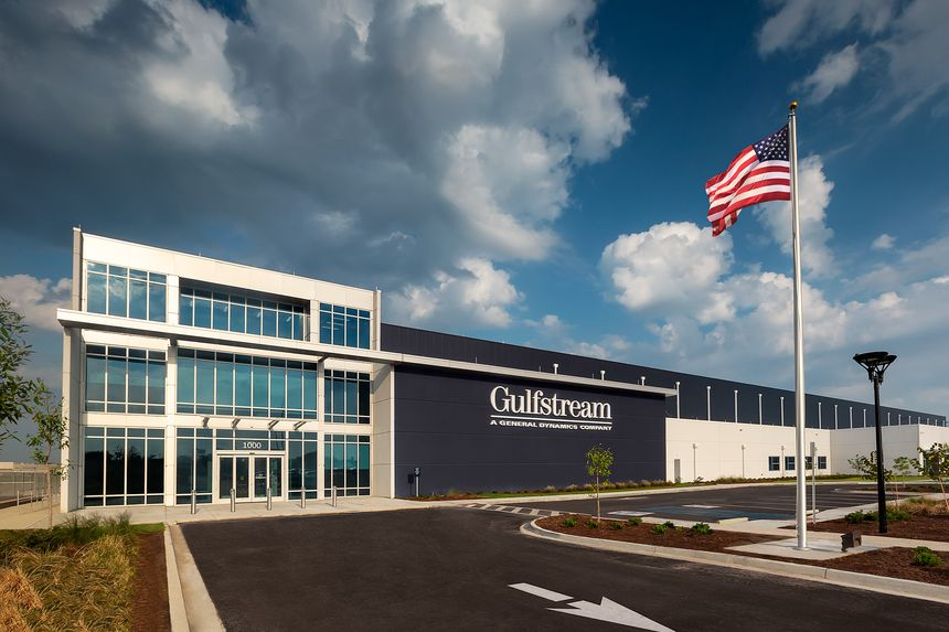 INAUGURAÇÃO DO GULFSTREAM EAST CAMPUS NA SEDE DA EMPRESA