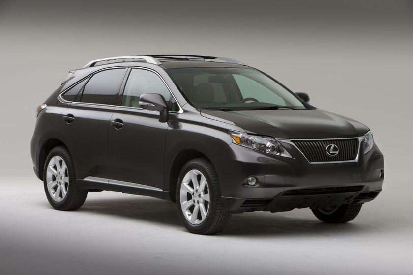rx company listings of cars lexus
