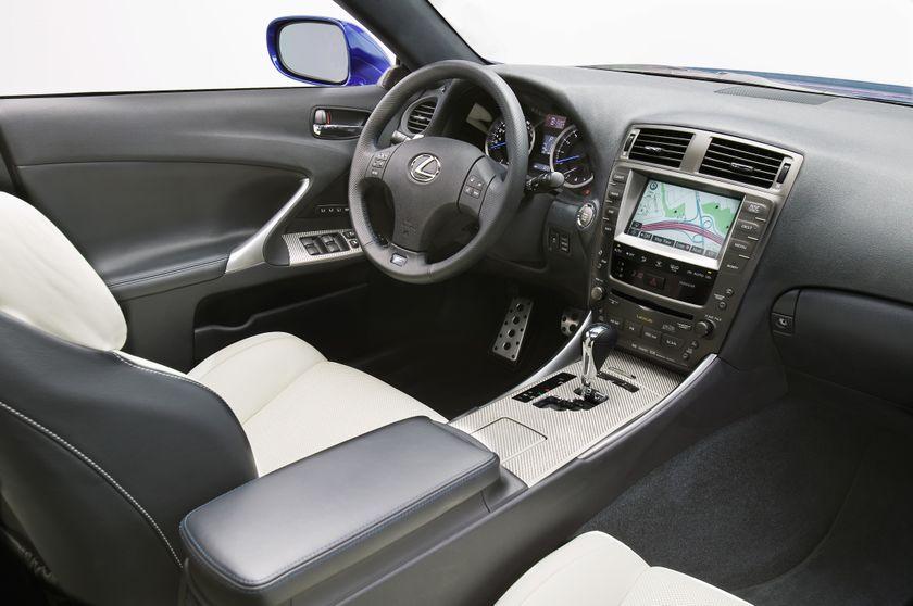 2011 Lexus IS F 10