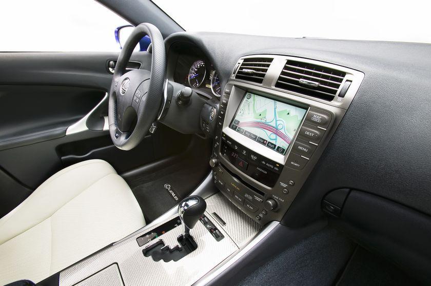 2011 Lexus IS F 11
