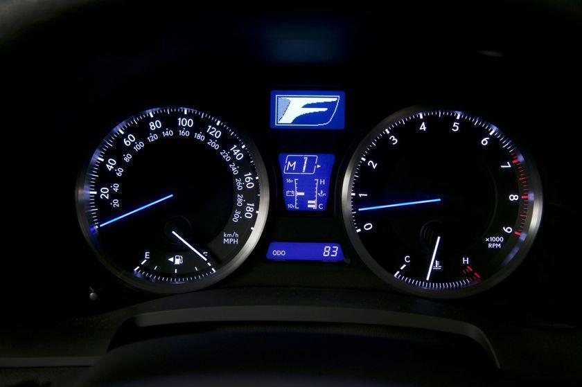 2011 Lexus IS F 12