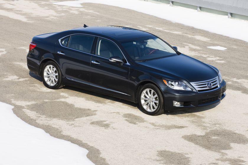 2011 Lexus LS 600h L 11