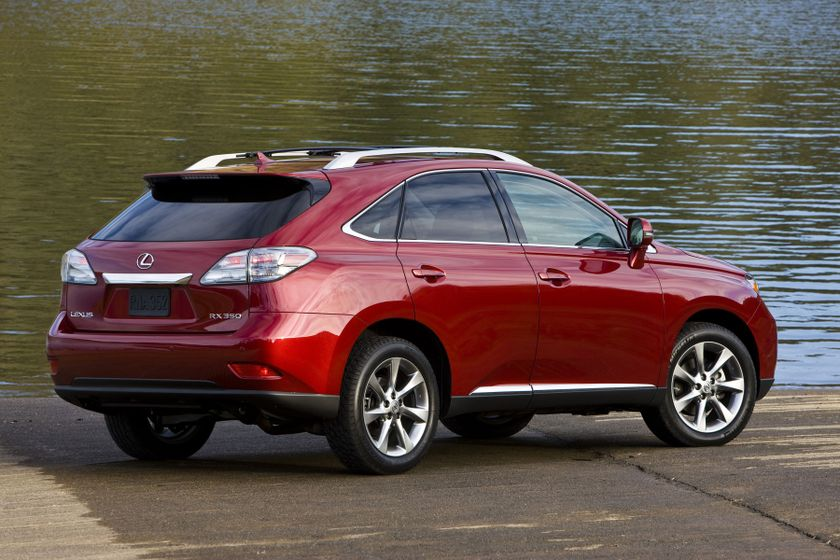 The 2011 Lexus Rx 350 The Canadian Built Luxury Suv