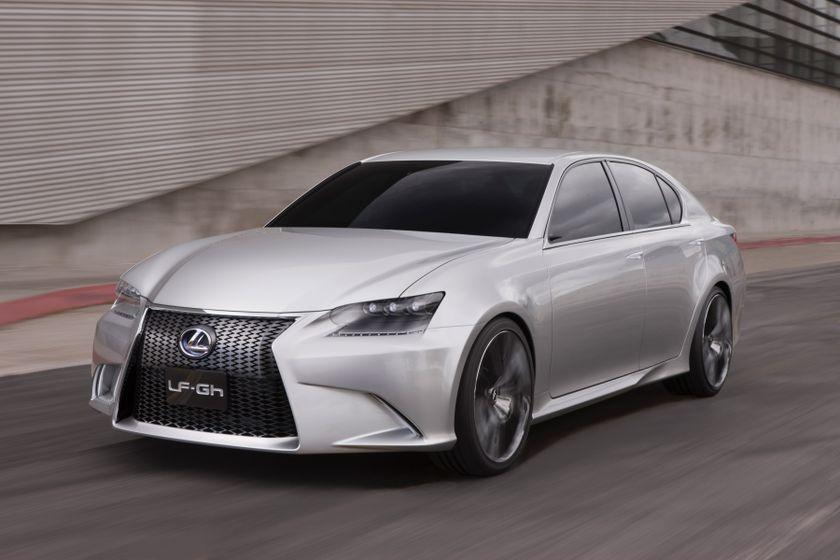 Lexus LF-Gh Concept 014