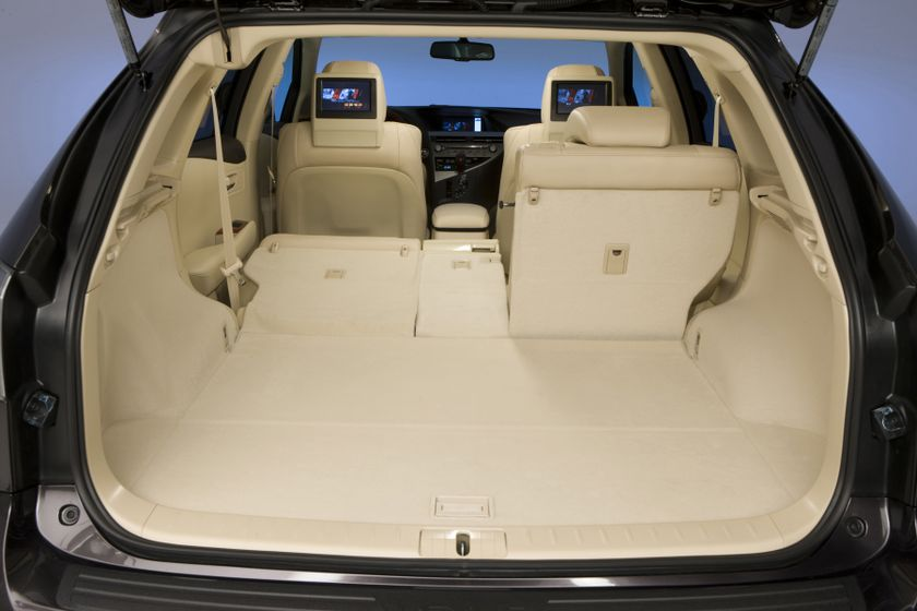 The 2012 Lexus RX 350: Performance, innovation, versatility and even