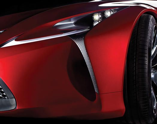 2012 NAIAS Lexus Concept Teaser